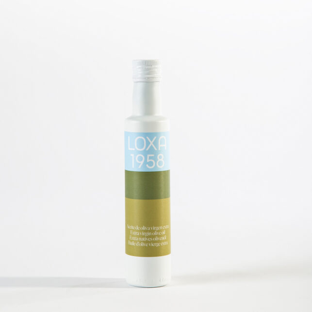 Botella Vidrio de 250ML de Envero AOVE Coupage