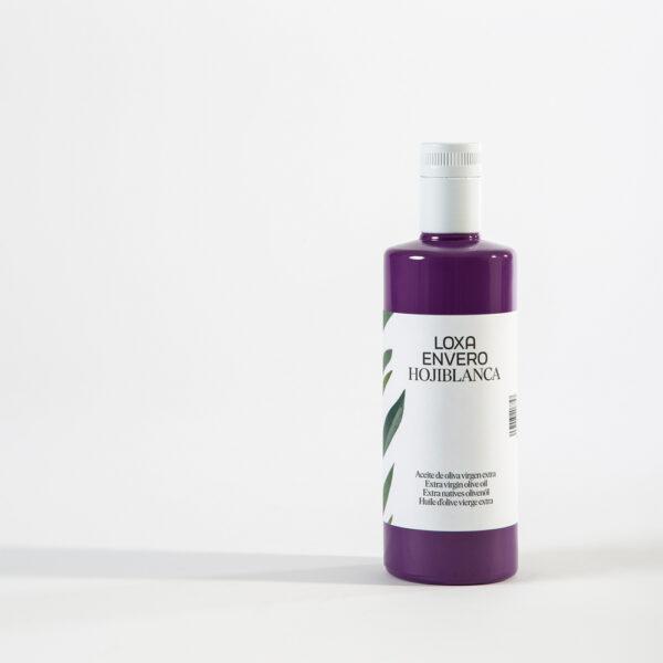 Botella de 500ML de Envero AOVE Hojiblanca